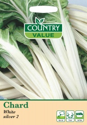 Chard Seeds White Silver 2 by Country Value