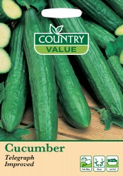 Cucumber Seeds Telegraph Improved by Country Value
