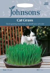 Cat Grass Seeds by Johnsons