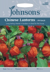 Chinese Lanterns 'Physalis' Seeds by Johnsons