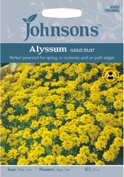 Alyssum Gold Dust Seeds by Johnsons Seeds
