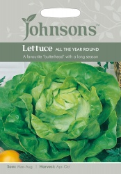 Lettuce 'All The Year Round' - Johnson's Seeds