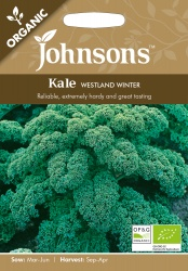 Organic Kale Seeds 'Westland Winter' by Johnsons