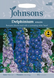 Delphinium Seeds 'Avalon' by Johnsons