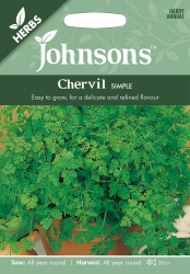 Chervil Seeds 'Simple' by Johnsons