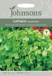 Lettuce 'Salad Bowl' Seeds by Johnsons