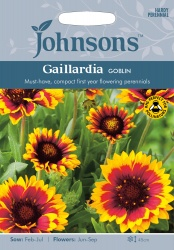 Gallardia 'Goblin' Seeds by Johnsons