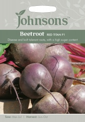 Beetroot Seeds Red Titan F1 by Johnsons