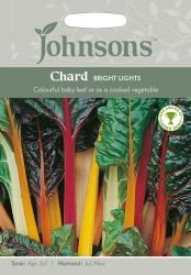 Chard Seeds Bright Lights by Johnsons
