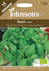 Organic Vegetable & Herb Seed Selection by Johnsons