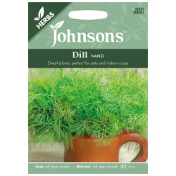 Dill Seeds 'Nano' Dwarf by Johnsons