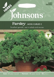 Parsley Moss Curled 2 Seeds - Johonson's Seeds
