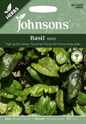 Basil 'Pesto' Seeds by Johnsons