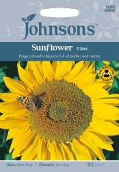 Sunflower 'Titan' Seeds by Johnsons
