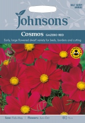 Cosmos Seeds Gazebo Red by Johnsons