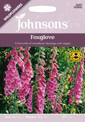 Foxglove Wildflower Seeds by Johnsons
