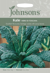 Kale Seeds 'Nero di Toscana' by Johnsons
