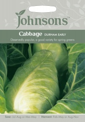 Cabbage 'Durham Early' - Johnson's Seeds