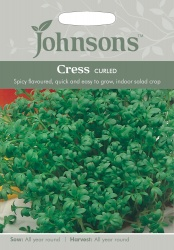 Cress 'Curled' - Johnson's Seeds