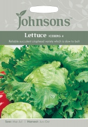 Lettuce 'Iceberg 4' Seeds - Johnson's Seeds