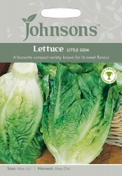 Lettuce 'Little Gem' Seeds by Johnsons