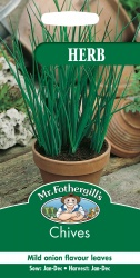 Chives Seeds by Mr Fothergill's Herbs