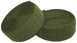 Sew On Hook & Loop Tape - Green 20mm Wide In Various Lengths