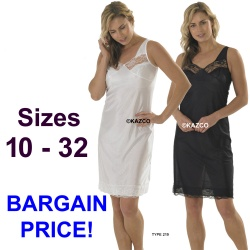 Full Slips In Black Or White